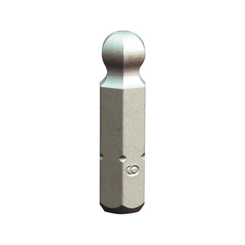"""1//4/"""" Bit L25 mm Schlitz 8,0 x 1,6 mm 10er Pack"""