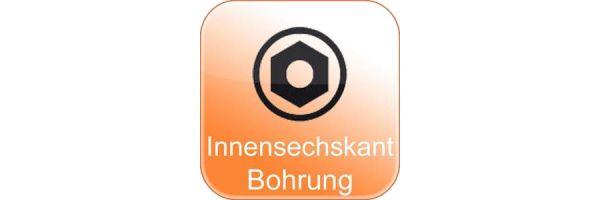 Innensechskant m. Bohr