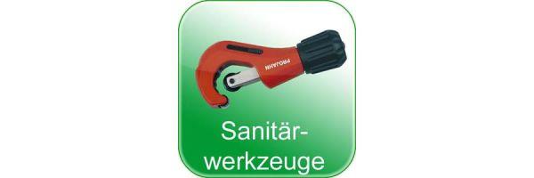 Sanitärwerkzeuge